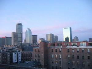 Boston Night Image
