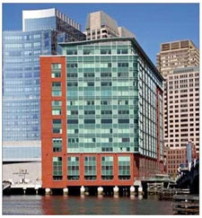 Office Space in Boston's Financial District Overlooking the Water