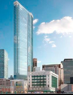Residence and Commercial space at Millennium tower, boston