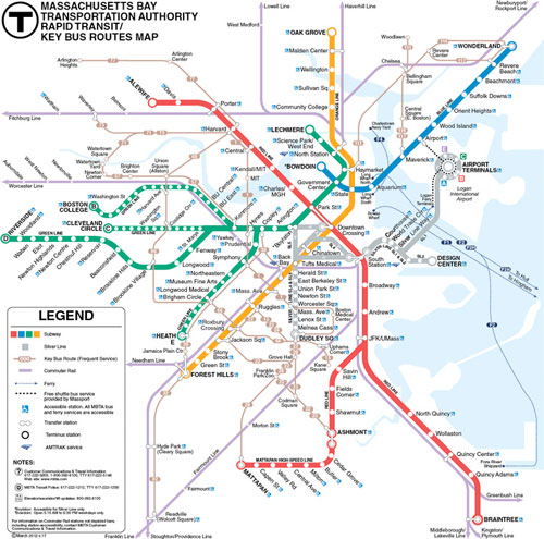Will Mbta S Red And Blue Lines Ever Meet Boston Office Spaces
