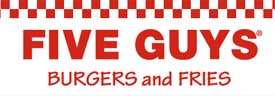 Five Guys restaurant chain, logo