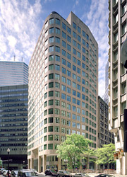Office space in the financial district, boston