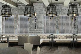Dining room at Bastille Kitchen