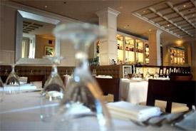Clio restaurant interior