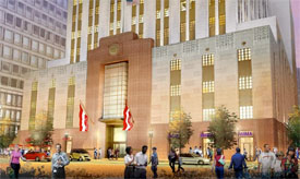 Rendering of 50 post office square boston