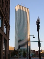 Office building at 1 Financial Center in Boston mass