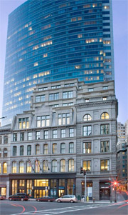 Office building at 70 Franklin Street in Boston