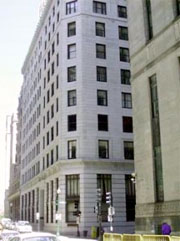 office building at 82 Devonshire street in the financial district in Boston