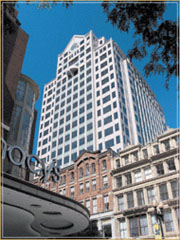 101 Arch street office building in Boston's financial district