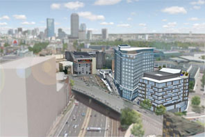 Rendering of the Fenway Center project in Boston