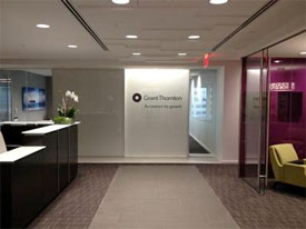 office space interior at 75 state street in Boston