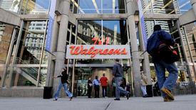Walgreens and convenience stores in Back Bay Boston