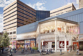 Copley place expansion, graphic rendering