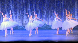 Boston Ballet putting on a performance of The Nutcracker