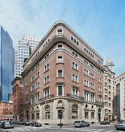 Office building on batterymarch street in Boston