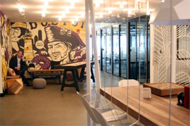collaborative office space for boston startups