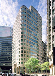 Boston office building at 155 Federal Street in the Financial District