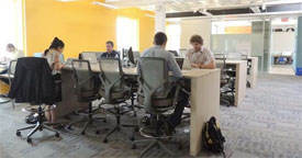 Workbar offices in cambridge