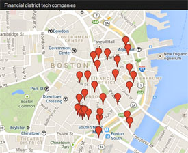 Boston financial district technology companies