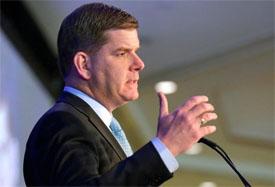 Boston mayor Martin J Walsh