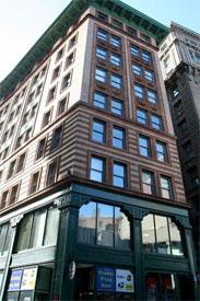 Downtown Crossing office space on Washington Street in Boston