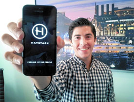 Haystack app and founder