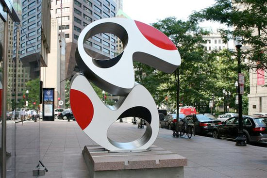225 Franklin Street sculpture