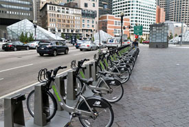 Bike-share in Boston