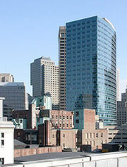 office space for lease on Arch Street in Boston
