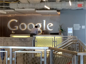 Google opens Kendall Sq office
