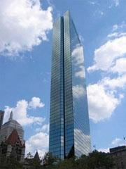 John Hancock Tower in Boston MA