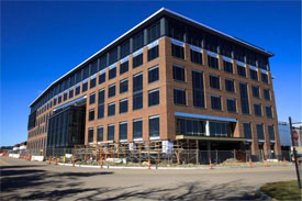 new office building in Needham for TripAdvisor
