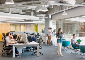open office space in Boston