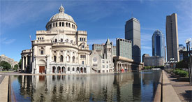 Christian Science Center in Boston
