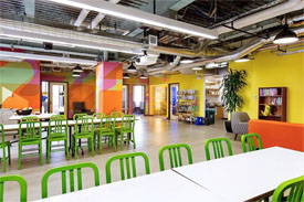Facebook office space in Kendall Square
