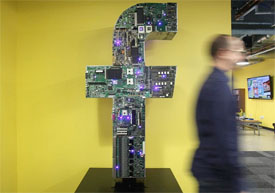 Art in Facebook's Cambridge office space