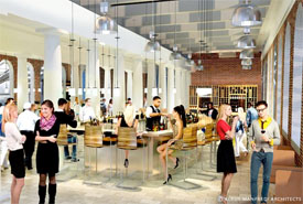 Faneuil Hall marketplace renovation