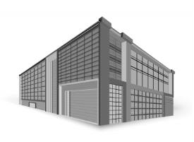 office building graphic