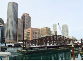 South Boston, Seaport Northern ave bridge