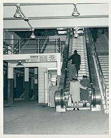 Historic photo of Boston's Govt Center T Station