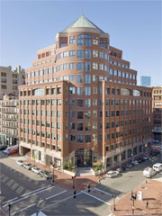 Office building at 745 Atlantic avenue in downtown Boston