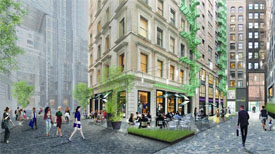 rendering of congress street redevelopment