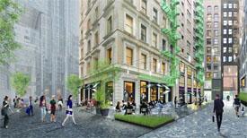 rendering of congress street redevelopment