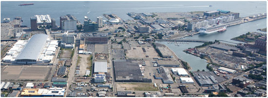 Boston marine industrial park