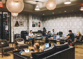 shared office space at wework