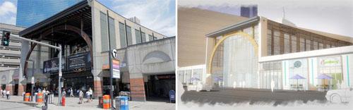 Back bay station renovations