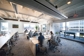 Cambridge co-working space at WorkBar