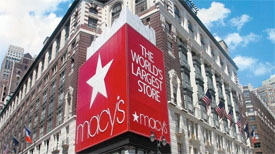 Macy's flagship store in NYC