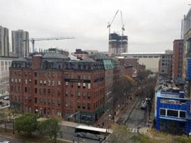 development near Boston north station