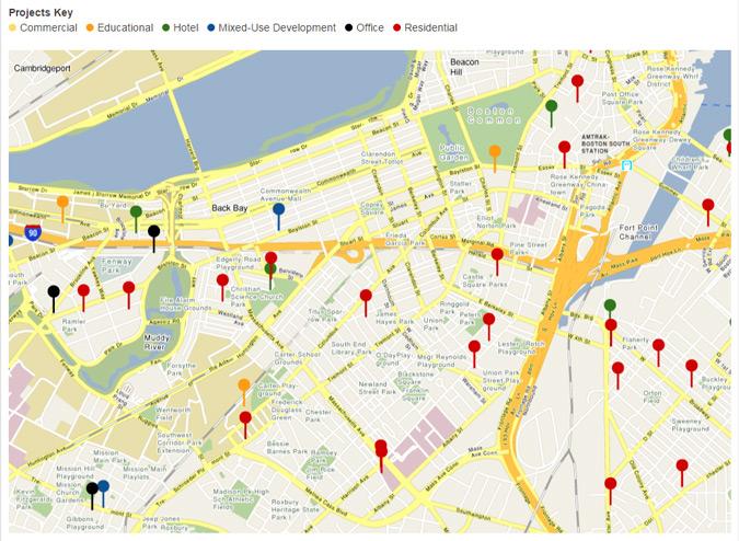 Boston real estate development map